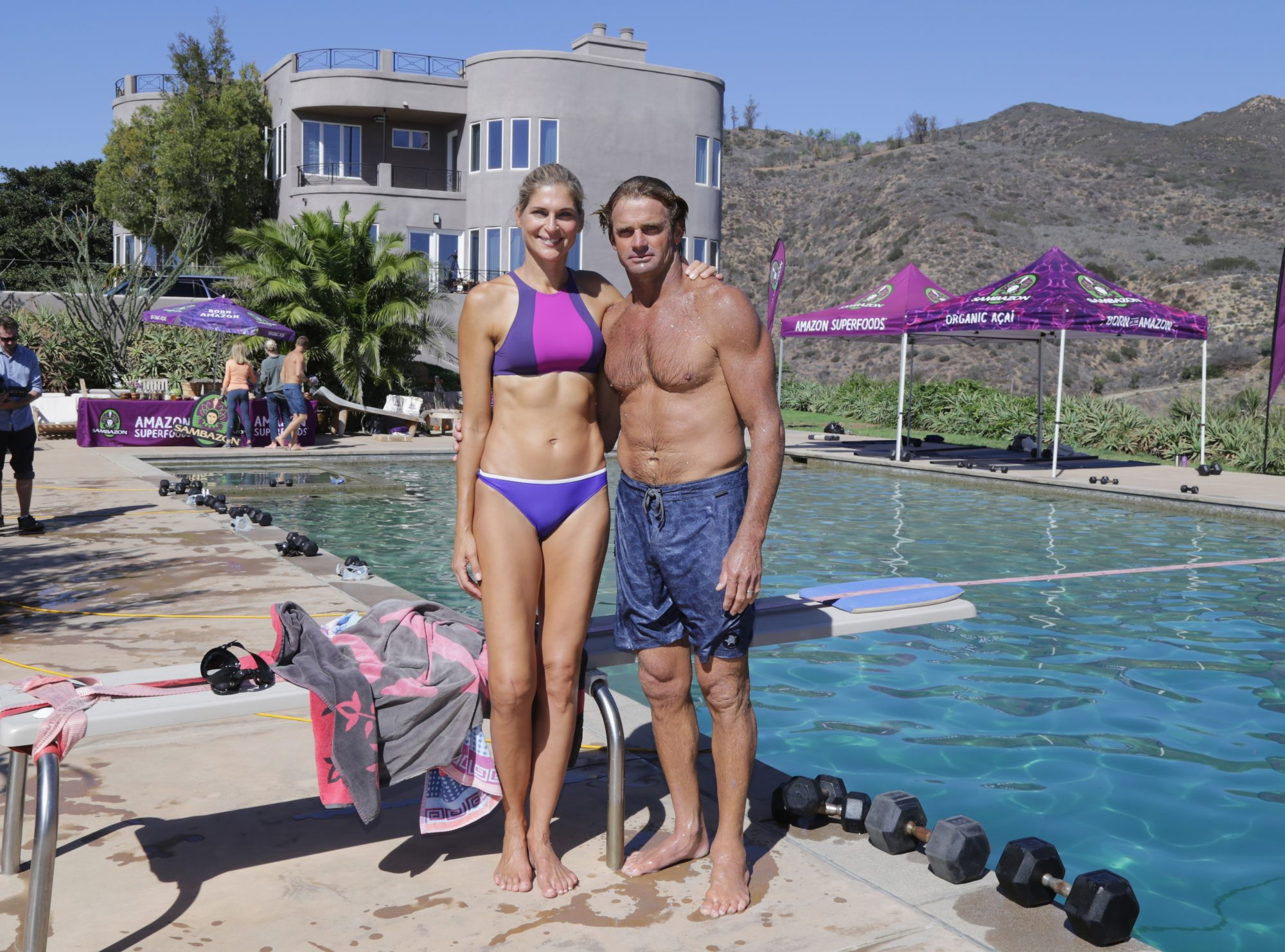 Gabby Reece And Laird Hamilton Fuel With Sambazon