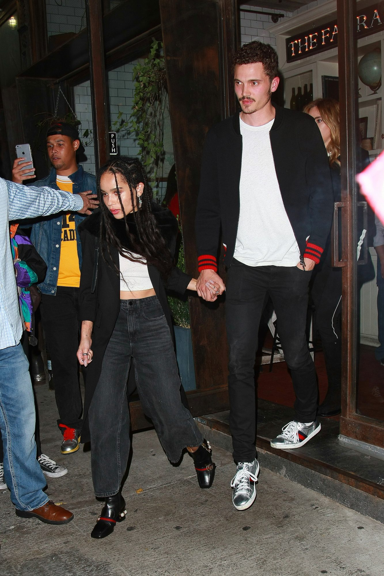Zoe Kravitz walks hand-in-hand with 'Love' actor Karl Glusman - DO NOT SYNDICATE