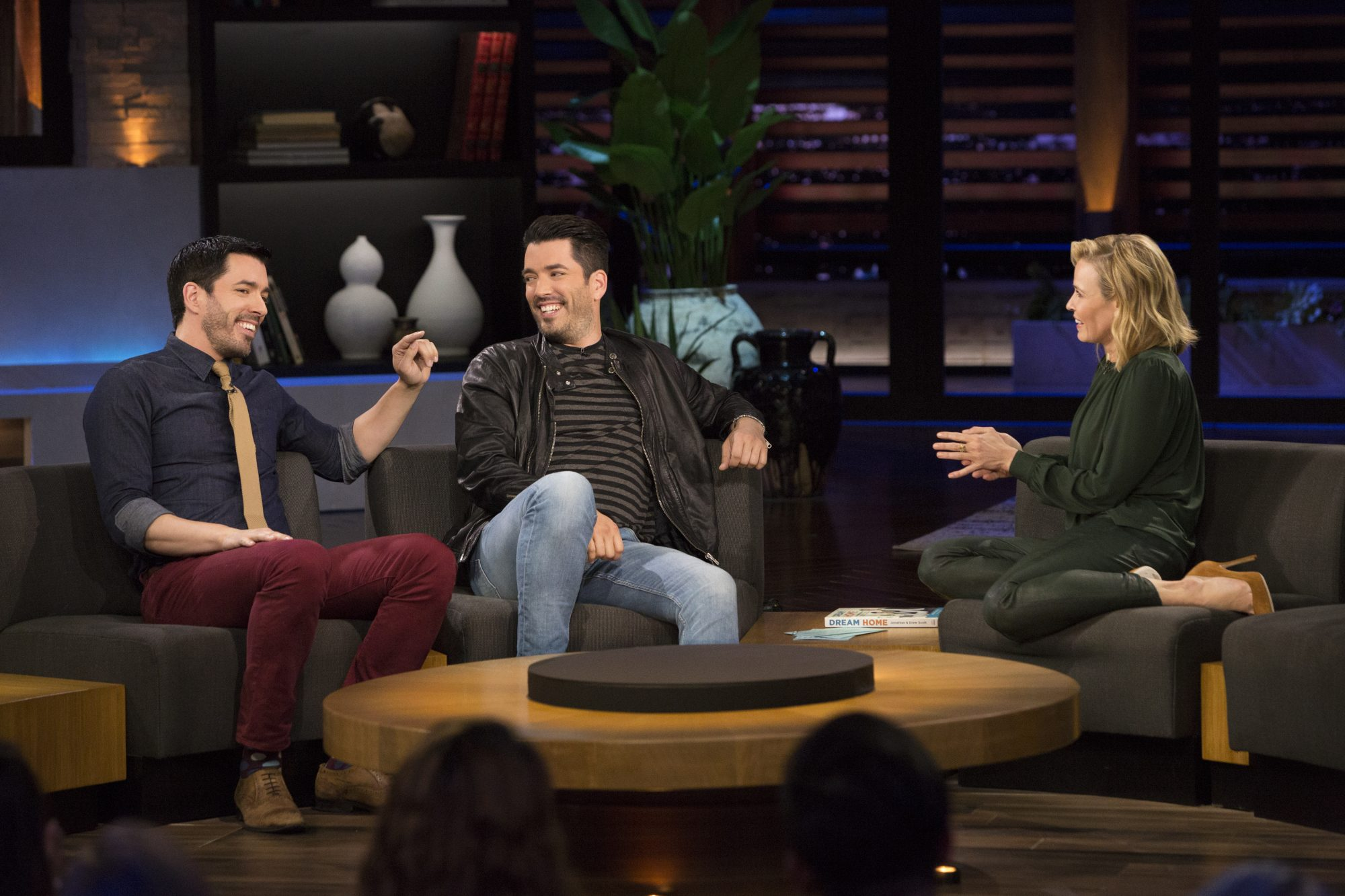 Los Angeles, California - October 10: Chelsea Handler Talk Show in Los Angeles on Monday, October 10, 2016. Guests include ) Taylor Lautner, Property Brothers: Jonathan and Drew Scott, and Matt Bellassai. (Photo by Tyler Golden/Netflix)