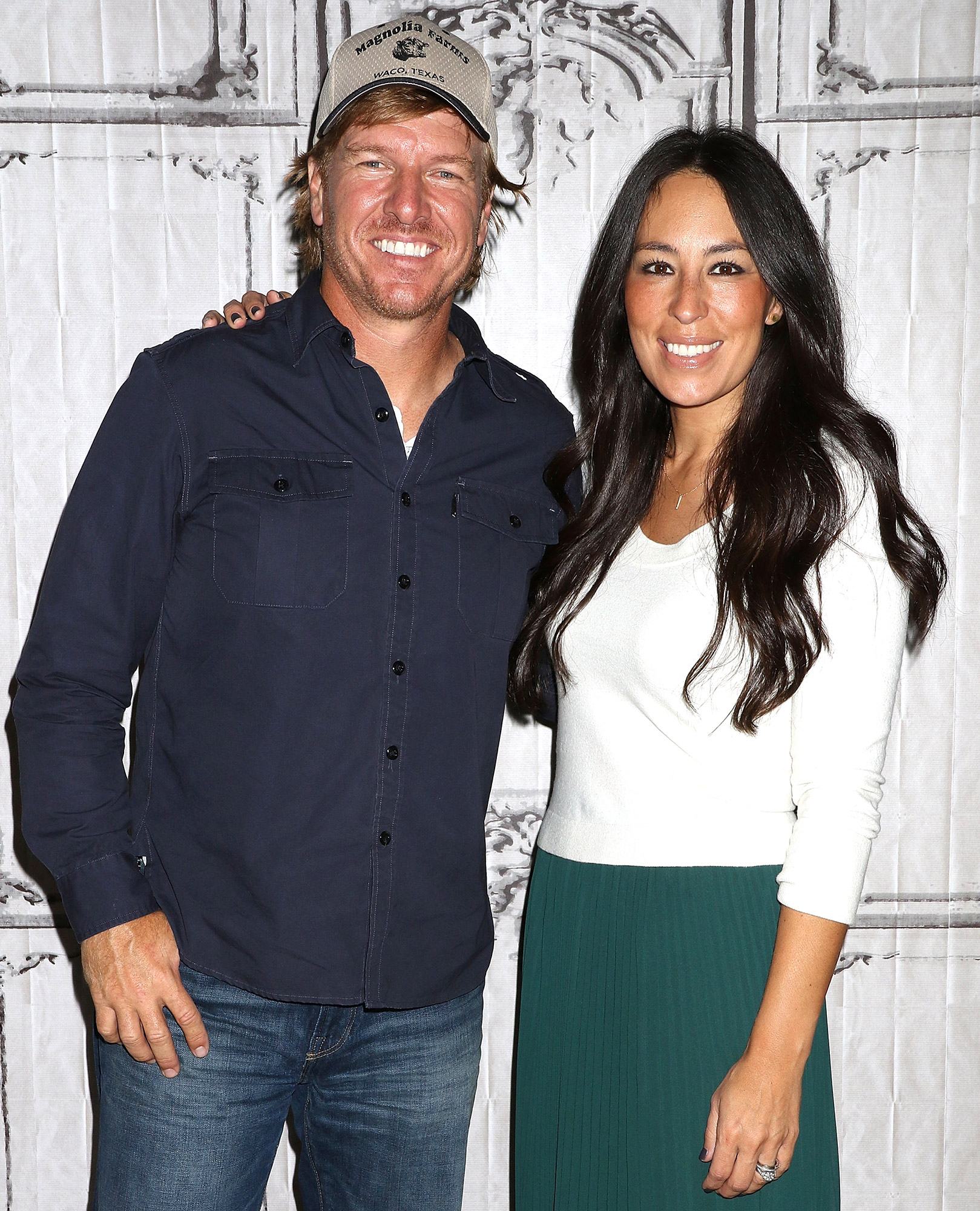 """NEW YORK, NY - OCTOBER 19: Chip Gaines and Joanna Gaines attend The Build Series to discuss """"The Magnolia Story"""" at AOL HQ on October 19, 2016 in New York City. (Photo by Laura Cavanaugh/WireImage)"""