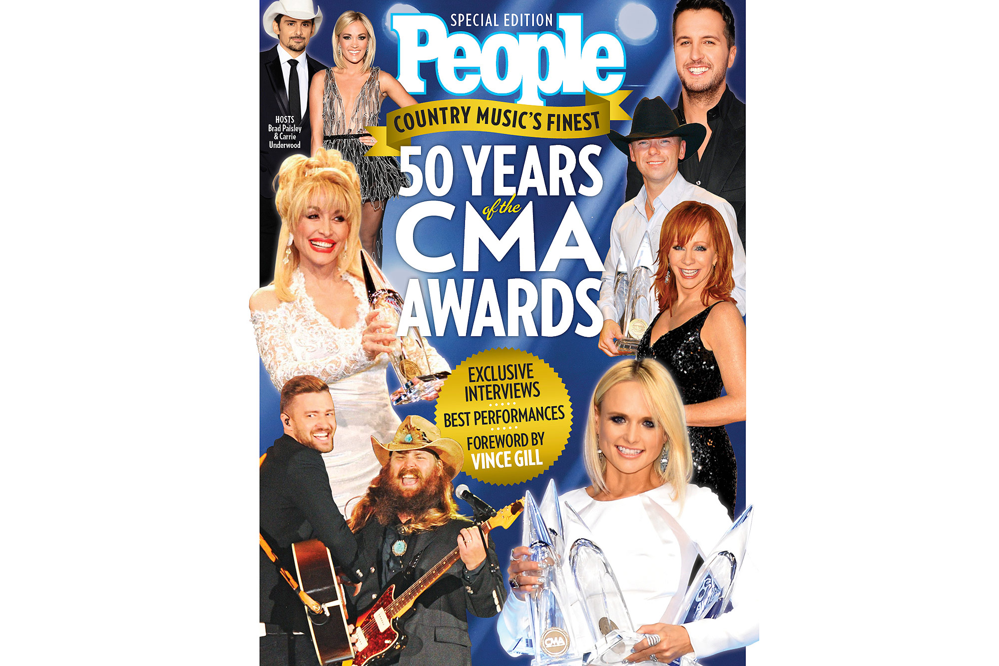 People Special Edition 50 years of the CMA Awards - Cover