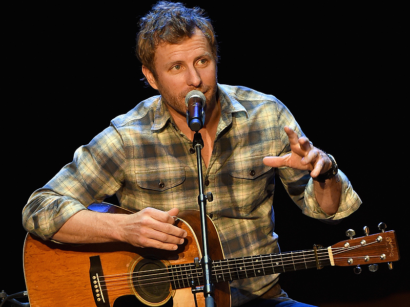 Dierks Bentley at the Country Music Hall of Fame