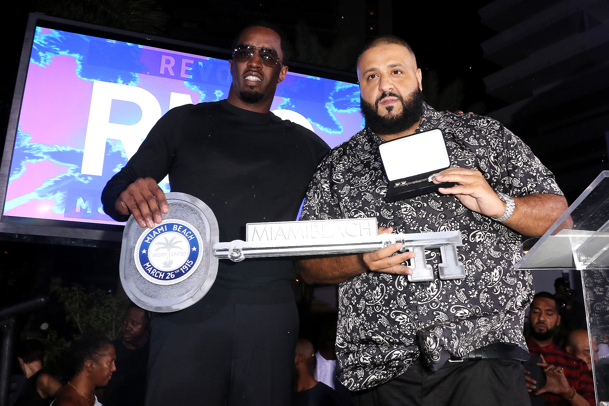 DJ Khaled and Diddy