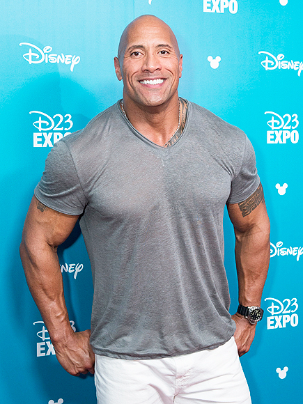 DWAYNE JOHNSON D23 EXPO