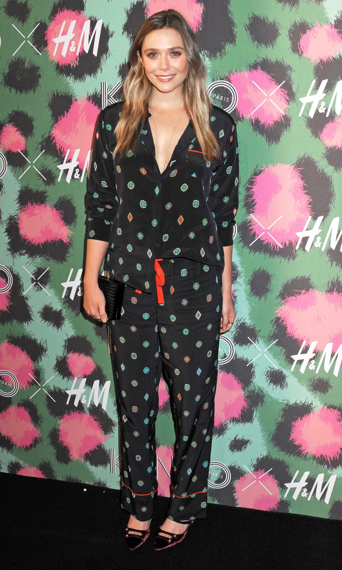 Arrivals at the KENZO x H&M Collection Launch Event in NYC