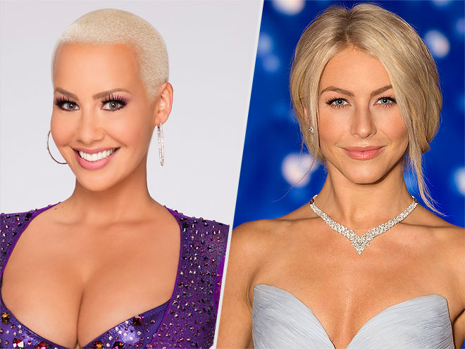 AMBER ROSE & JULIANNE HOUGH