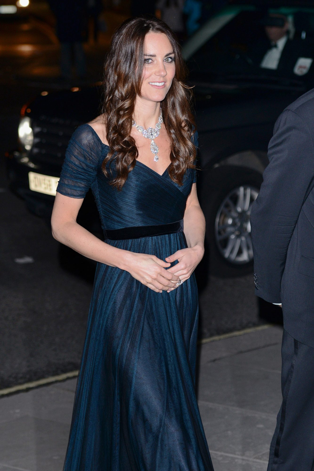 LONDON, ENGLAND - FEBRUARY 11: Catherine, Duchess of Cambridge attends The Portrait Gala 2014: Collecting To Inspire at the National Portrait Gallery on February 11, 2014 in London, England. (Photo by Karwai Tang/WireImage)
