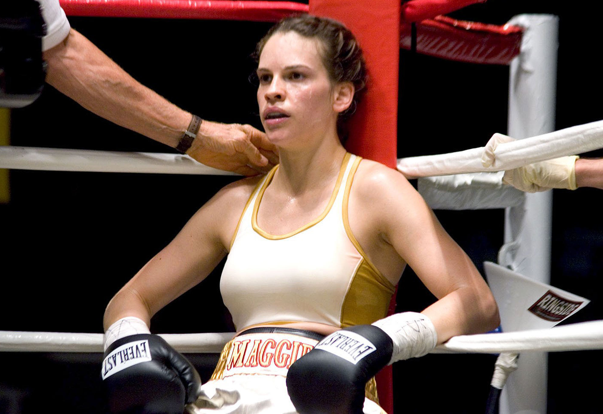 MILLION DOLLAR BABY, Hilary Swank, 2004, (c) Warner Brothers/courtesy Everett Collection