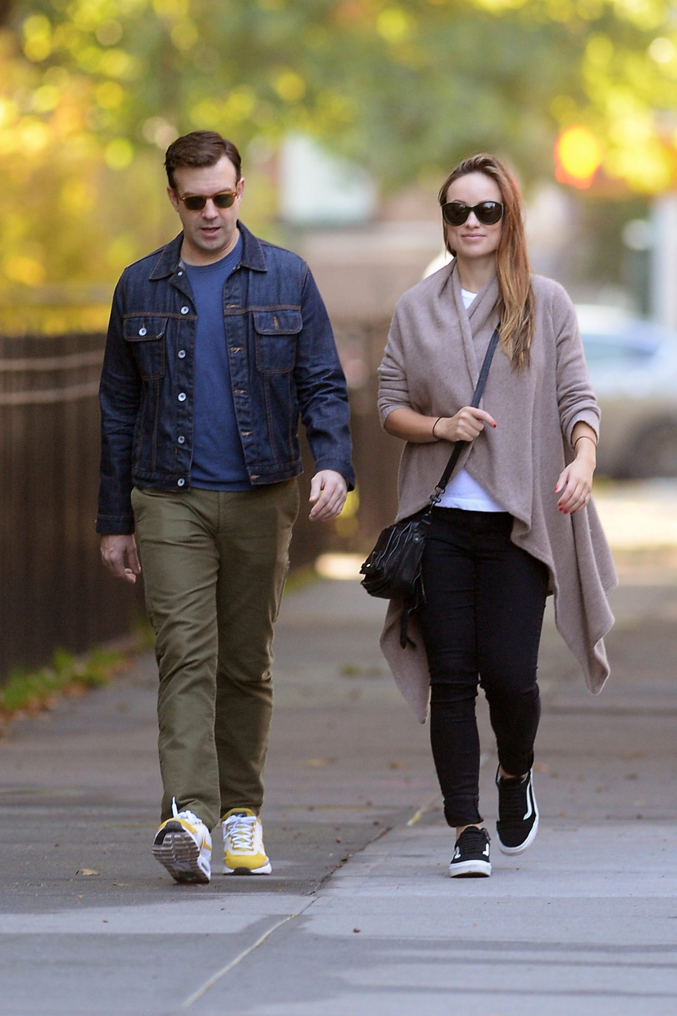 Olivia Wilde Out With Jason Sudeikis Less Than 1 Week After Giving Birth To Daughter Daisy