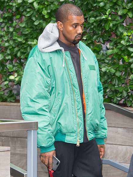 Kanye West Seen Leaving His AirBNB the Morning After Kim Kardashian Robbery In Paris
