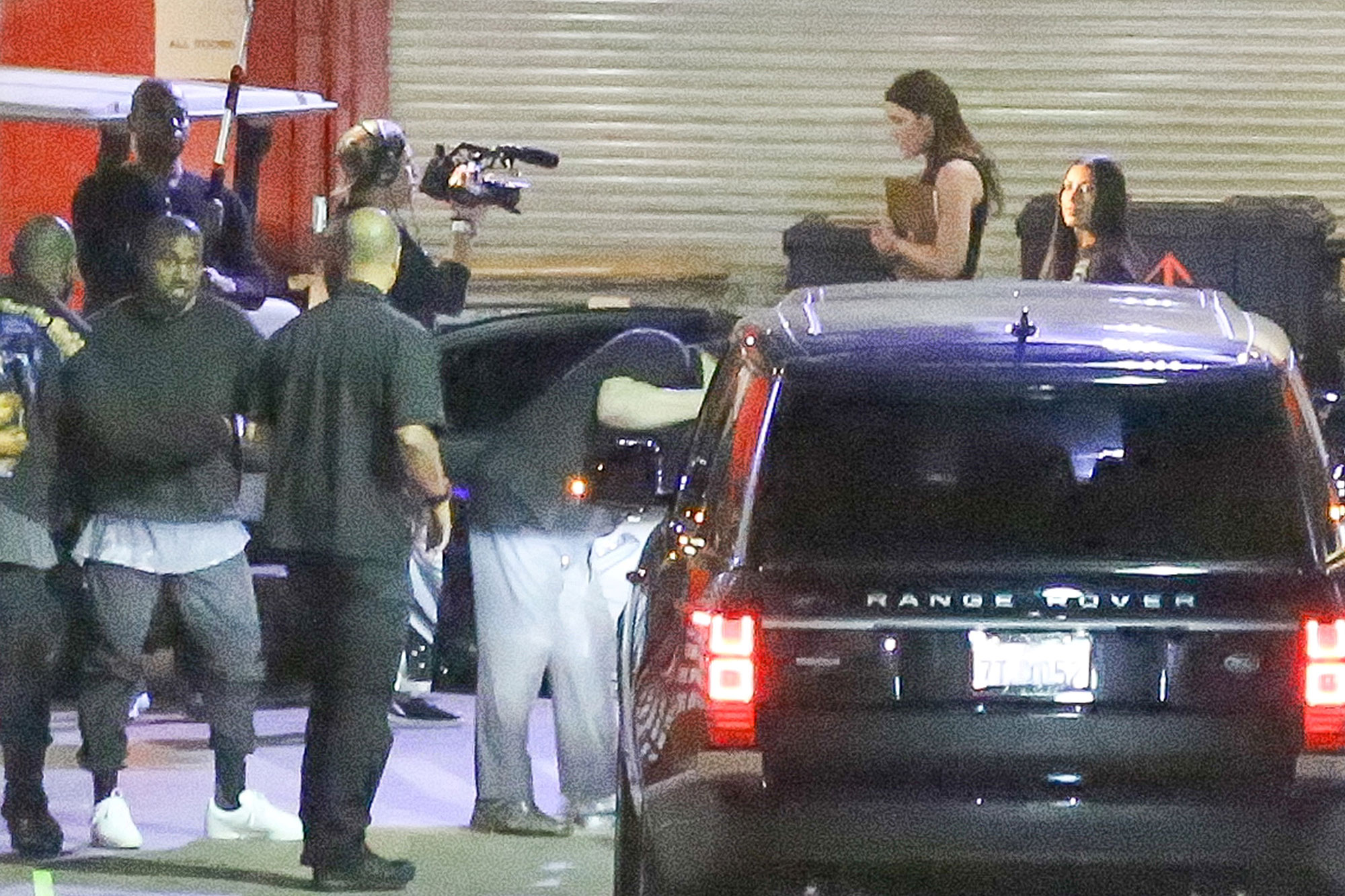 *EXCLUSIVE* Inglewood, CA - *EXCLUSIVE* Inglewood, CA - Kim Kardashian finally emerges at a public event attending the Kanye West's Saint Pablo Tour stop at The Forum in Inglewood. The KUWTK cameras were present to get her return to the public world. AKM-GSI 25 OCTOBER 2016 To License These Photos, Please Contact : Maria Buda (917) 242-1505 mbuda@akmgsi.com or Mark Satter (317) 691-9592 msatter@akmgsi.com sales@akmgsi.com