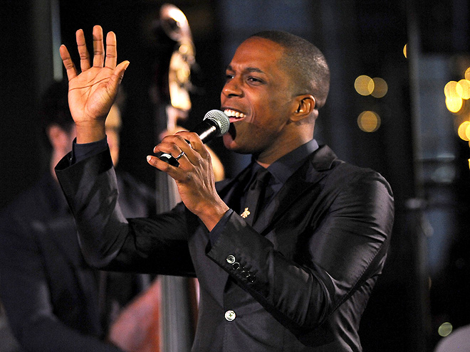 Leslie Odom Jr. performs at LIVE! from the Rainbow Room