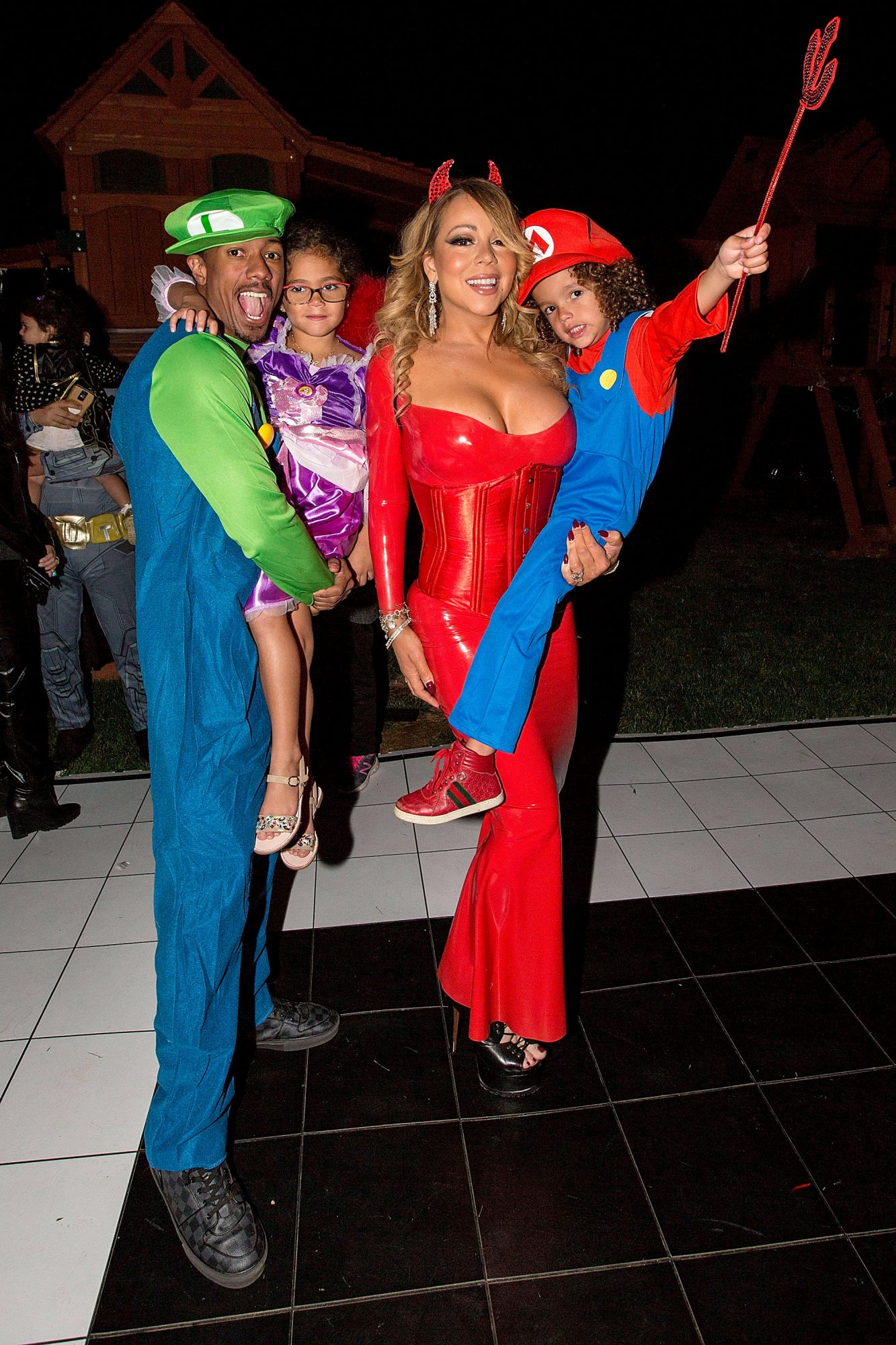 Nick Cannon & Mariah Carey
