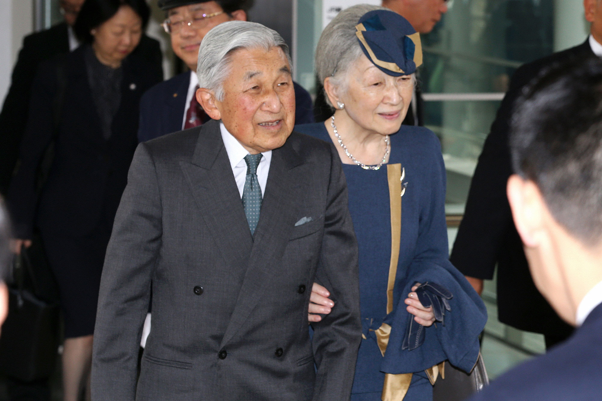 Emperor And Empress Visit Kyoto - Day 4
