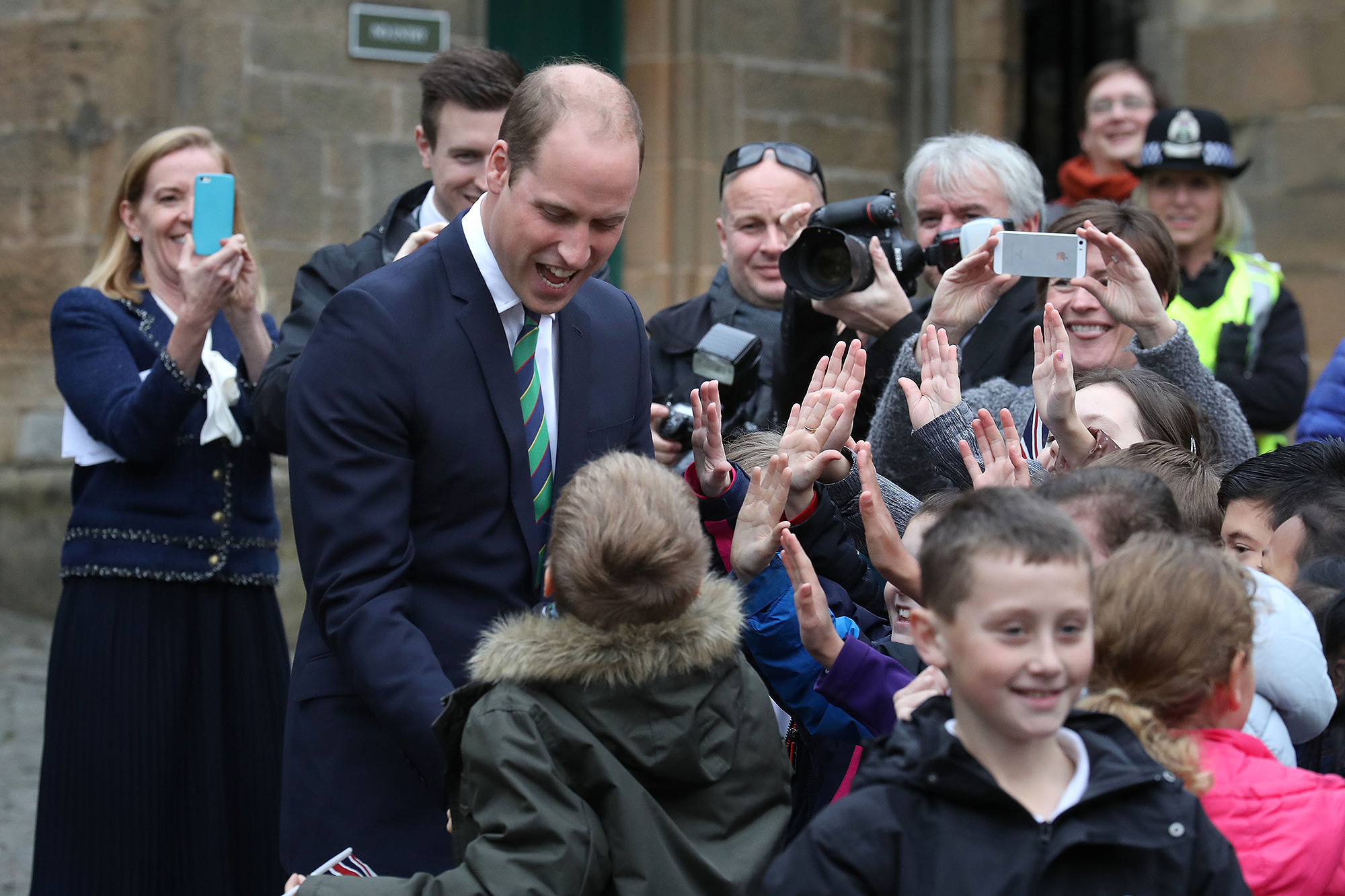 Royal visit to The Argyll and Sutherland Highlanders Regimental Museum