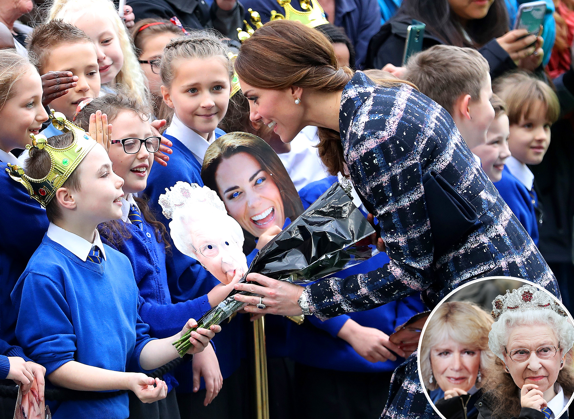 The Duke & Duchess Of Cambridge Visit Manchester