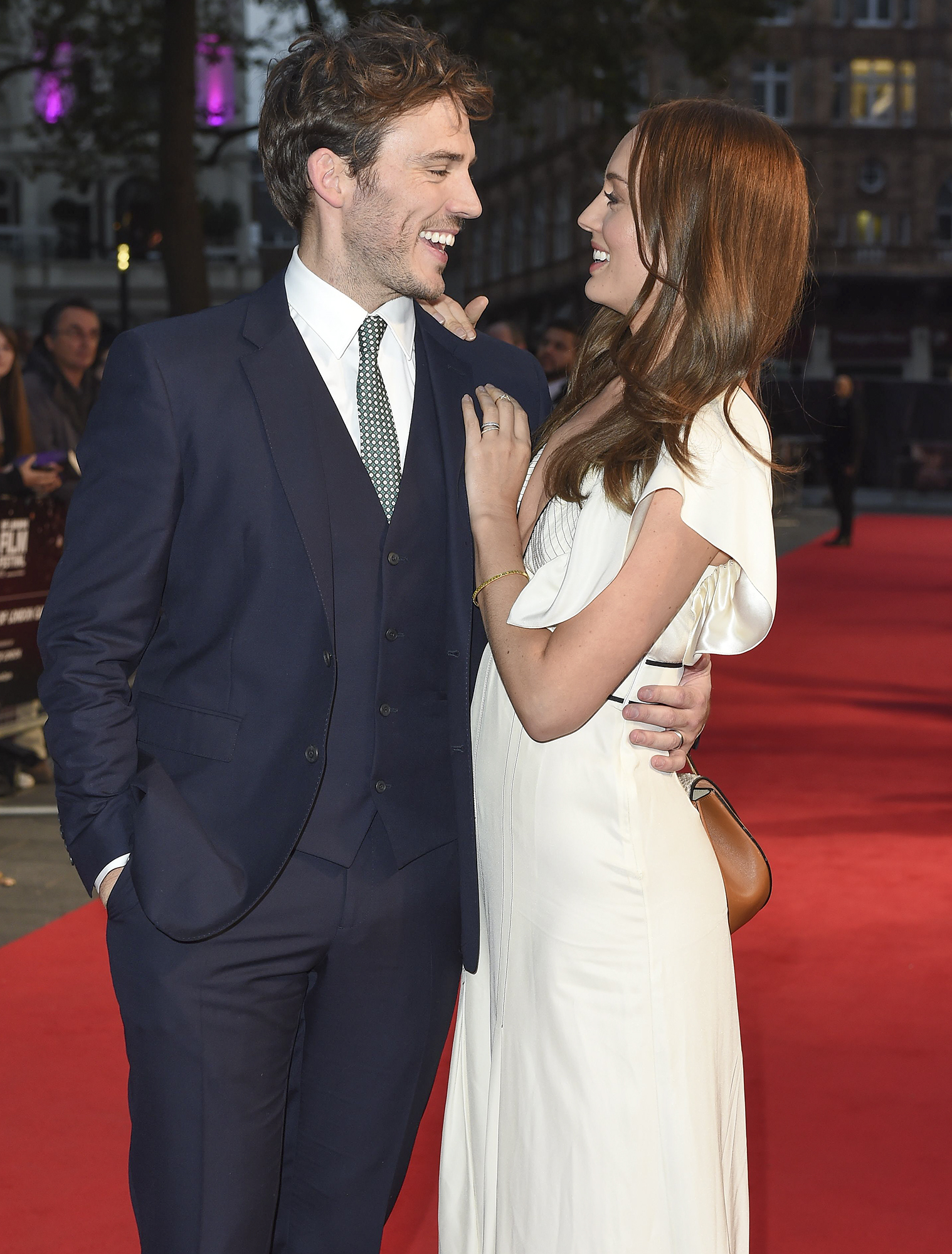 'Their Finest' film premiere and The Mayor of London's gala, 60th BFI London Film Festival, UK - 13 Oct 2016