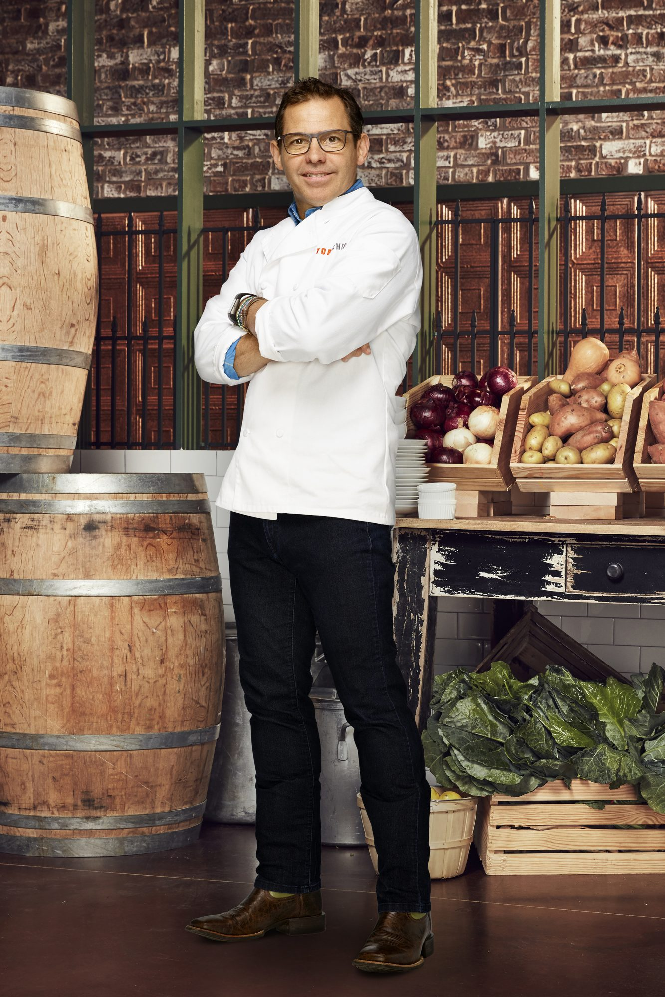 TOP CHEF -- Season:14 -- Pictured: John Tesar -- (Photo by: Tommy Garcia/Bravo)