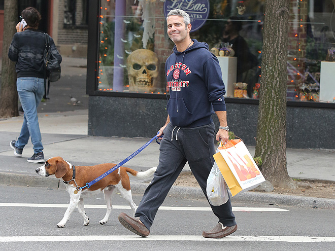 Andy Cohen and Dog Shopping in the West Village