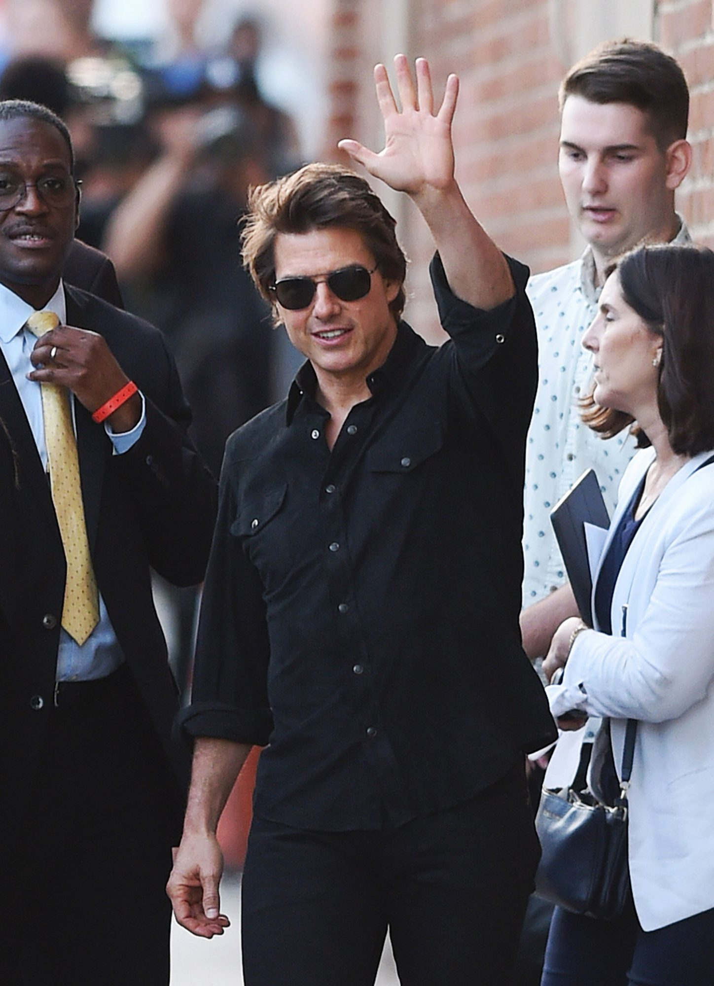 Tom Cruise Leaving the 'Jimmy Kimmel Live' Show