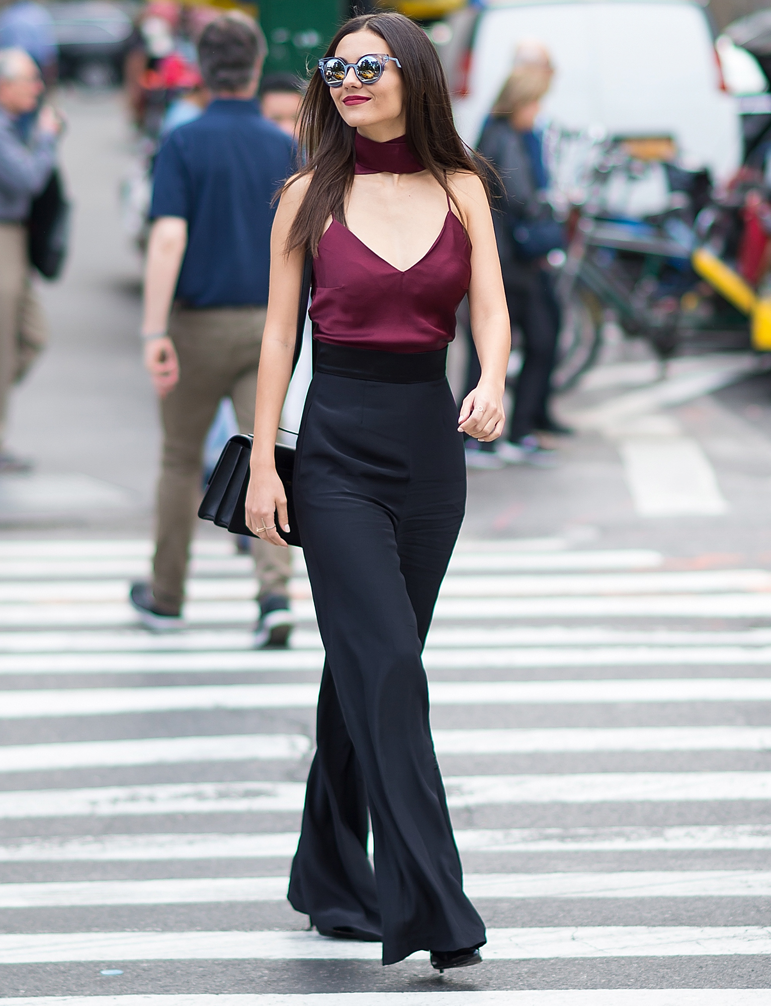 Victoria Justice Visits New York City