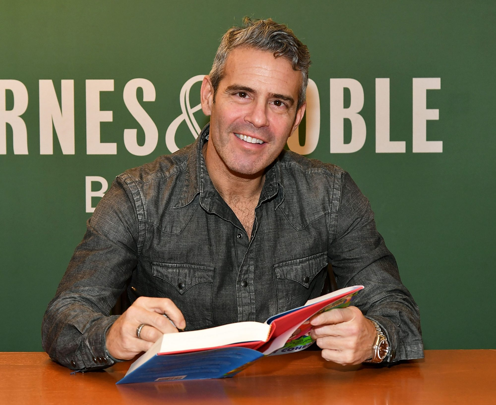"""Andy Cohen Signs Copies Of His New Book """"More Adventures From The Andy Cohen Diaries"""""""