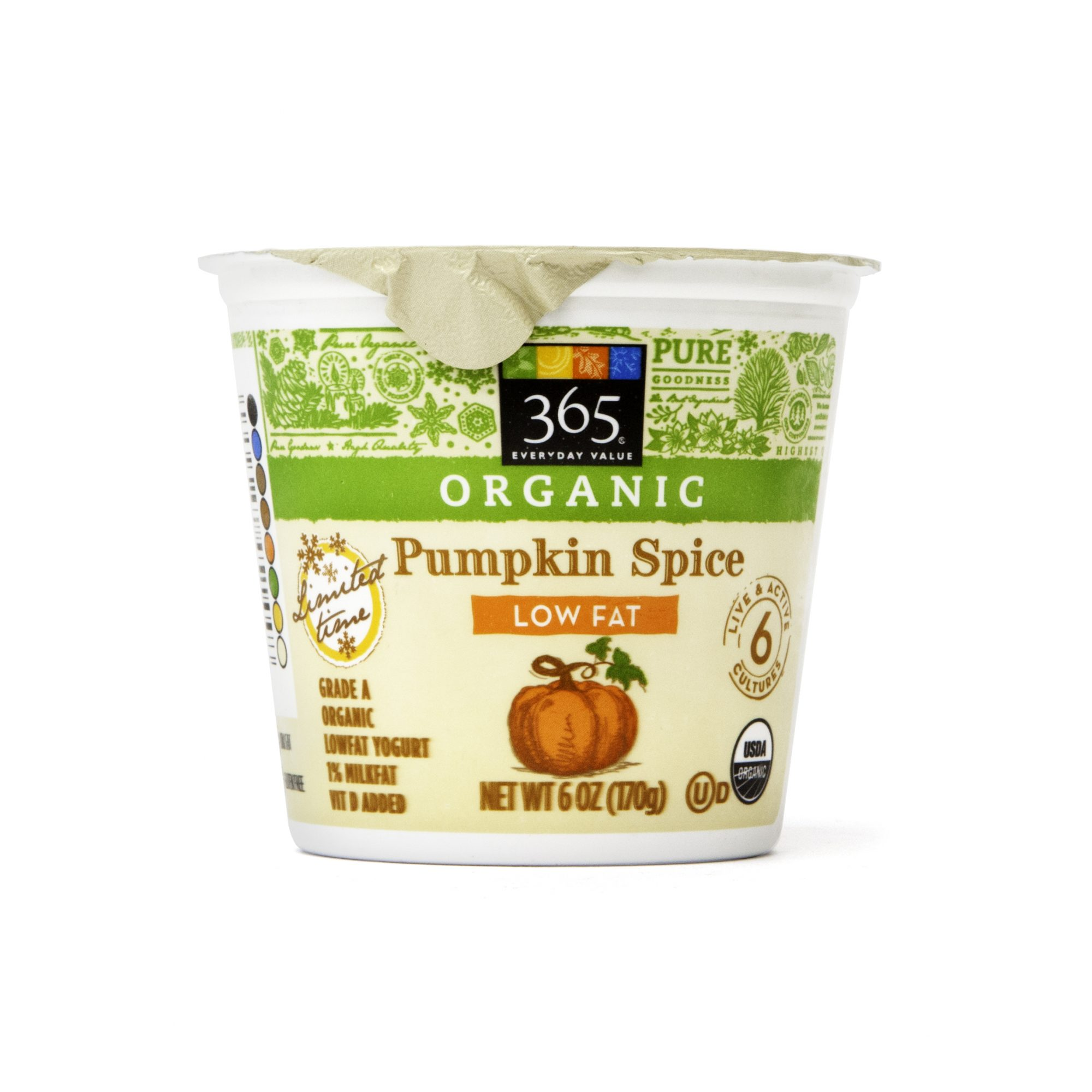 ORGANIC PUMPKIN SPICE LOW FAT YOGURT
