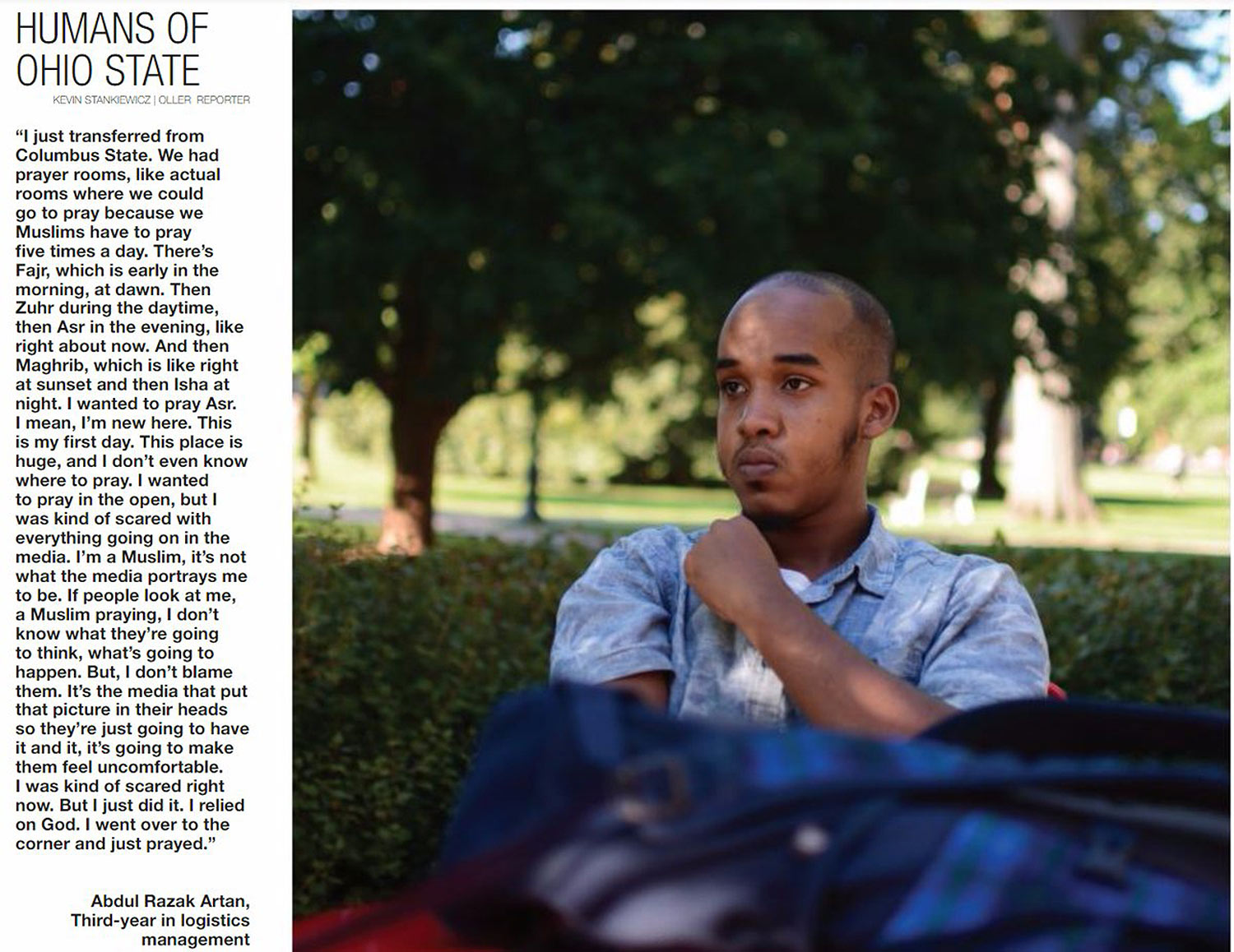 Humans of Ohio State