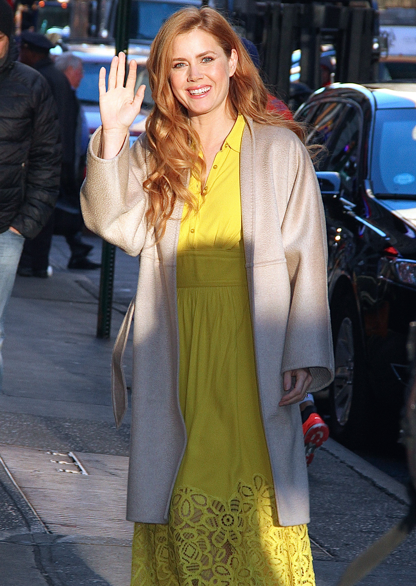Amy Adams at 'Good Morning America' in NYC