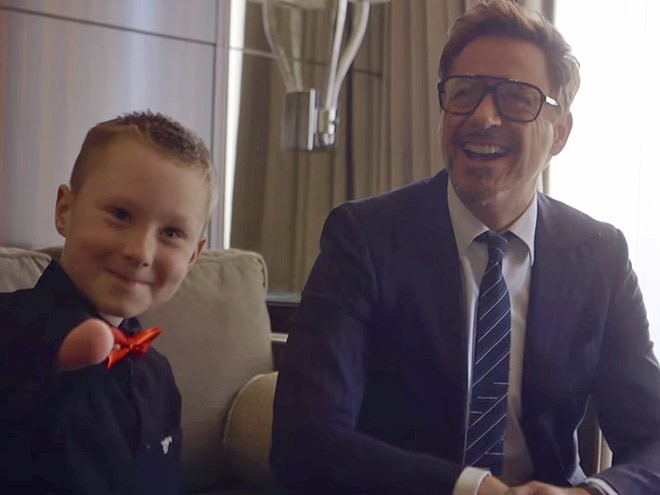WHEN RDJ GAVE A LITTLE BOY A BIONIC ARM – AS IRON MAN