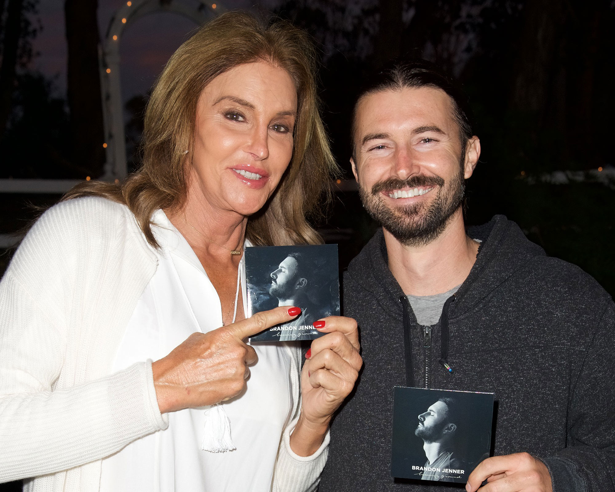 Brandon Jenner and Caitlyn Jenner