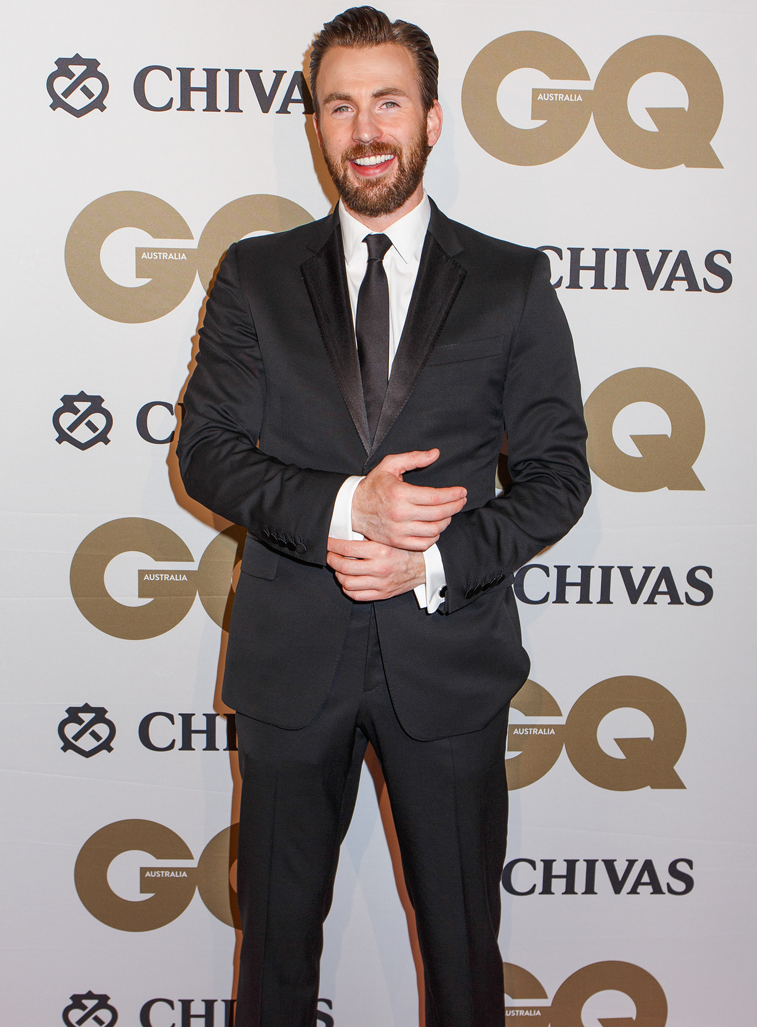 Chris Evans attends GQ Men of the Year Awards 2016