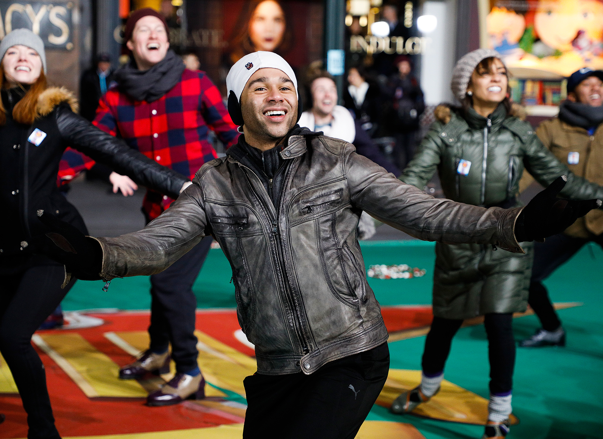 90th Macy's Thanksgiving Day Parade Rehearsals - Day 1