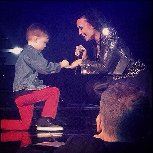 WHEN DEMI ACCEPTED A 5-YEAR-OLD'S PROPOSAL