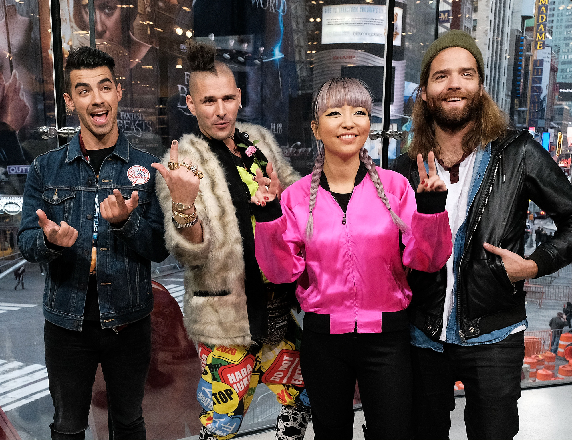 """DNCE Visits """"Extra"""""""