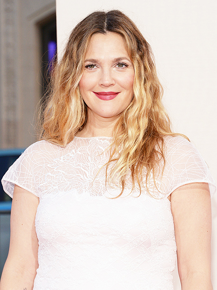 DREW BARRYMORE IS WORKING ON HERS, TOO