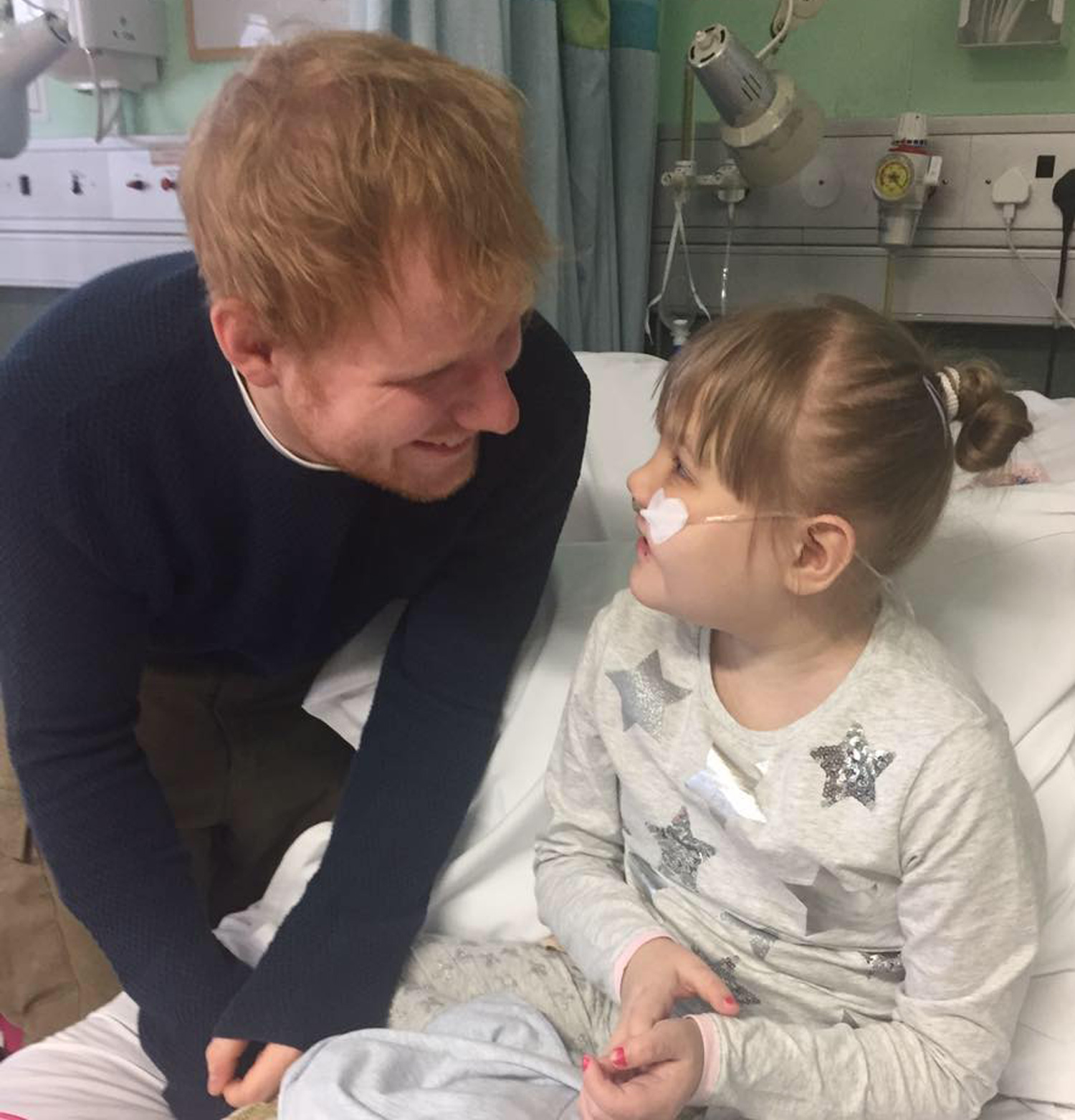 WHEN ED SHEERAN VISITED HIS BIGGEST FAN IN THE HOSPITAL