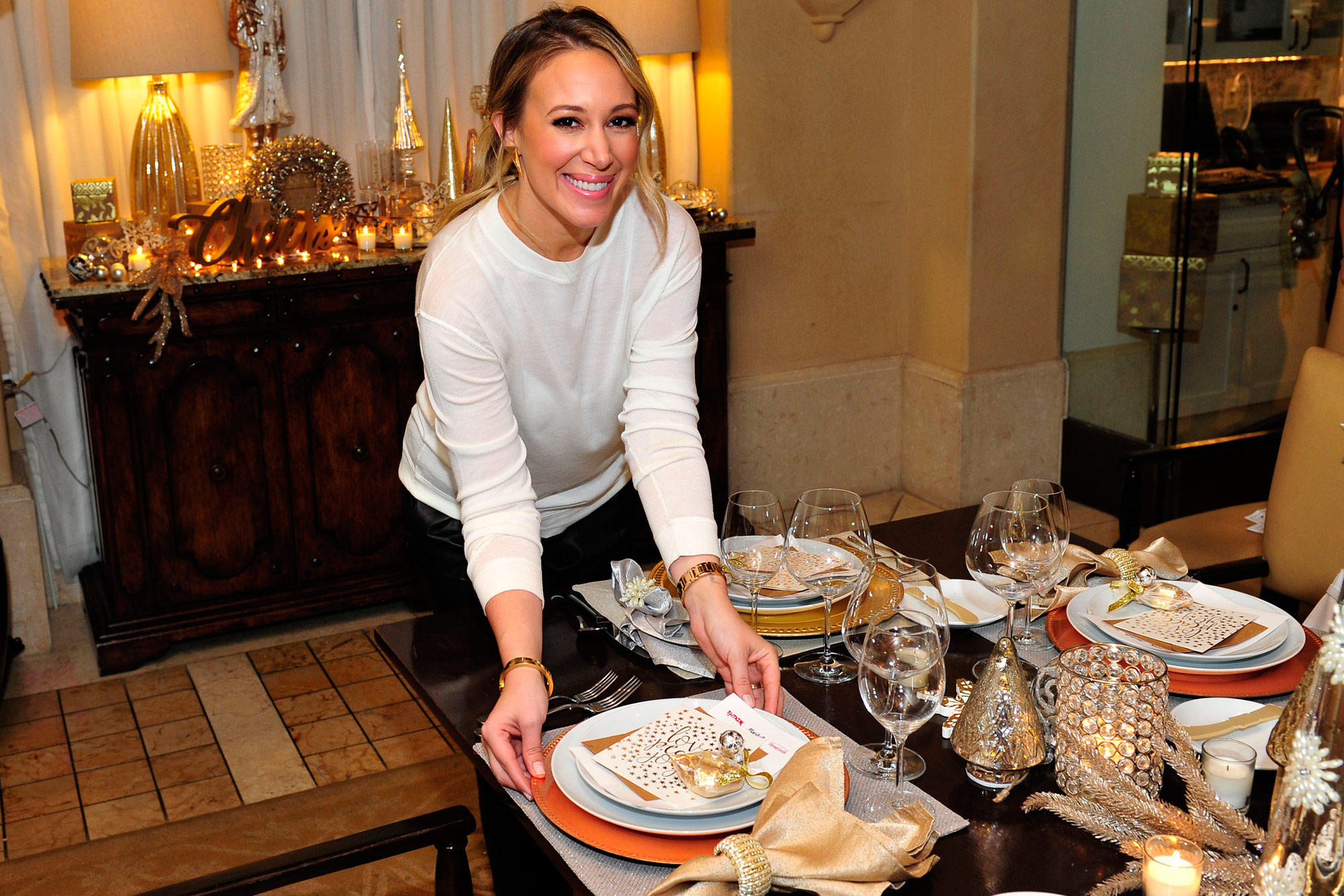 Haylie Duff On Being Tasked With Cooking Her Delicious Turkey Recipe for Thanksgiving (Again)