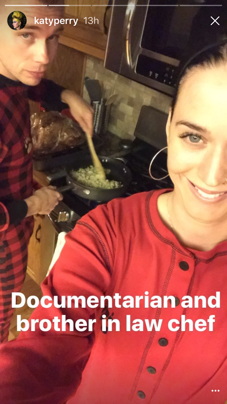 Katy Perry on Thanksgiving