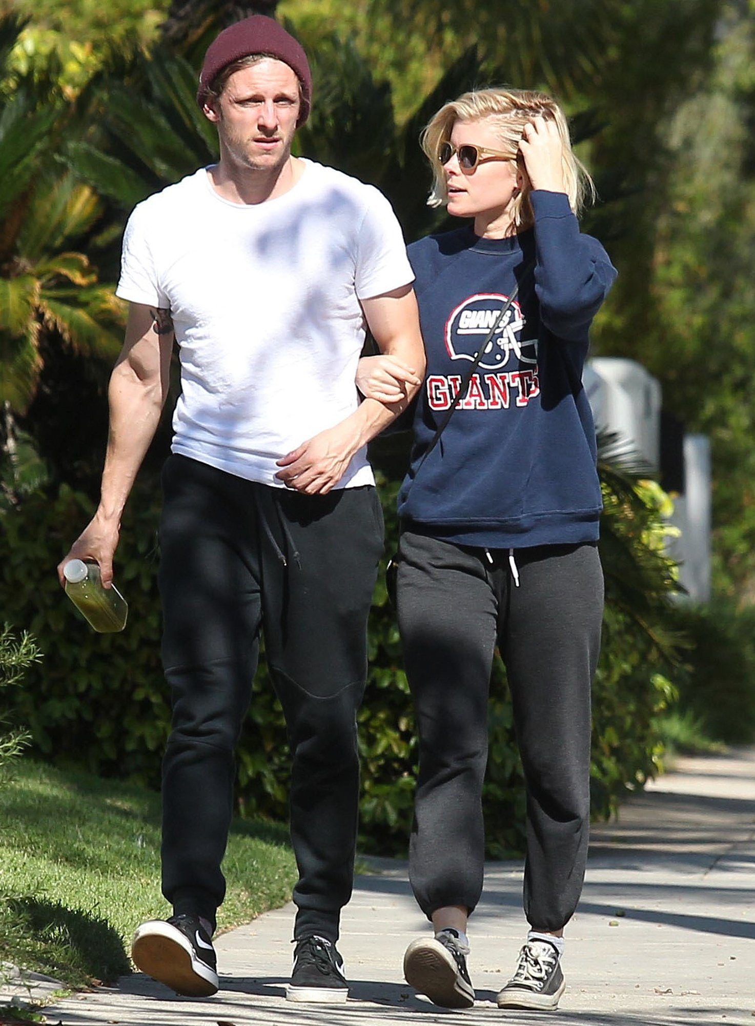 Exclusive... Kate Mara & Jamie Bell Out And About In West Hollywood