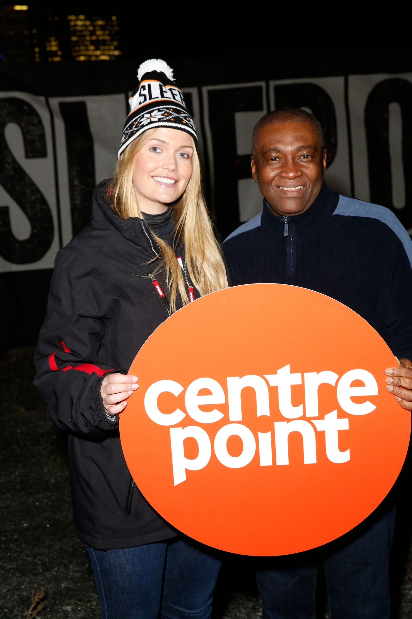 Lady Kitty Spencer Sleepout