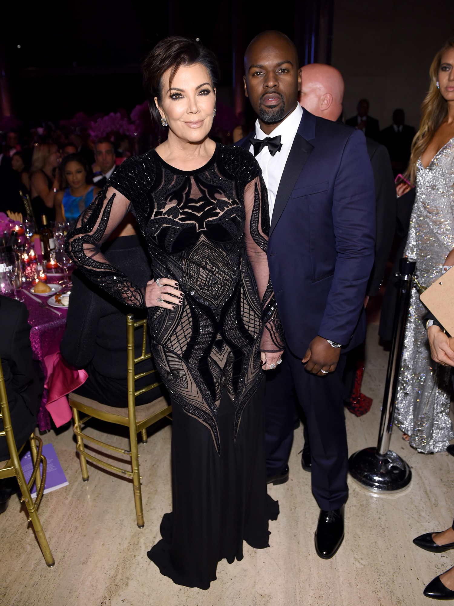NEW YORK, NY - NOVEMBER 21: Kris Jenner and Corey Gamble attend the 2016 Angel Ball hosted by Gabrielle's Angel Foundation For Cancer Research on November 21, 2016 in New York City. (Photo by Dimitrios Kambouris/Getty Images for Gabrielle's Angel Foundation)