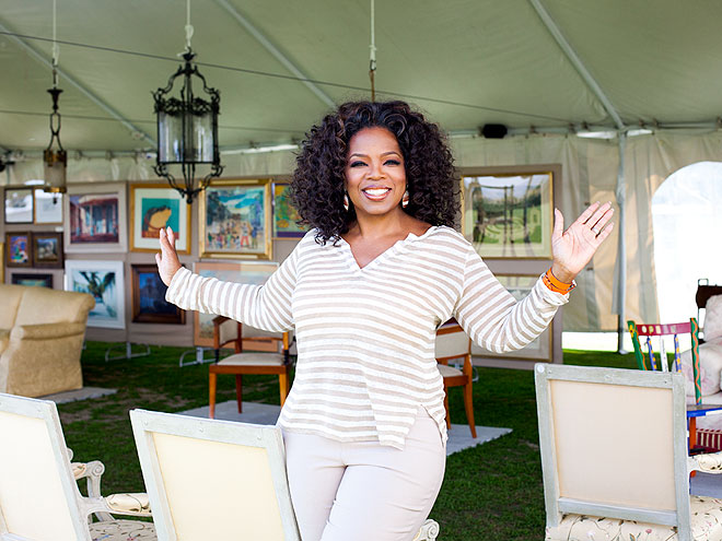 WHEN OPRAH SOLD HER STUFF FOR CHARITY