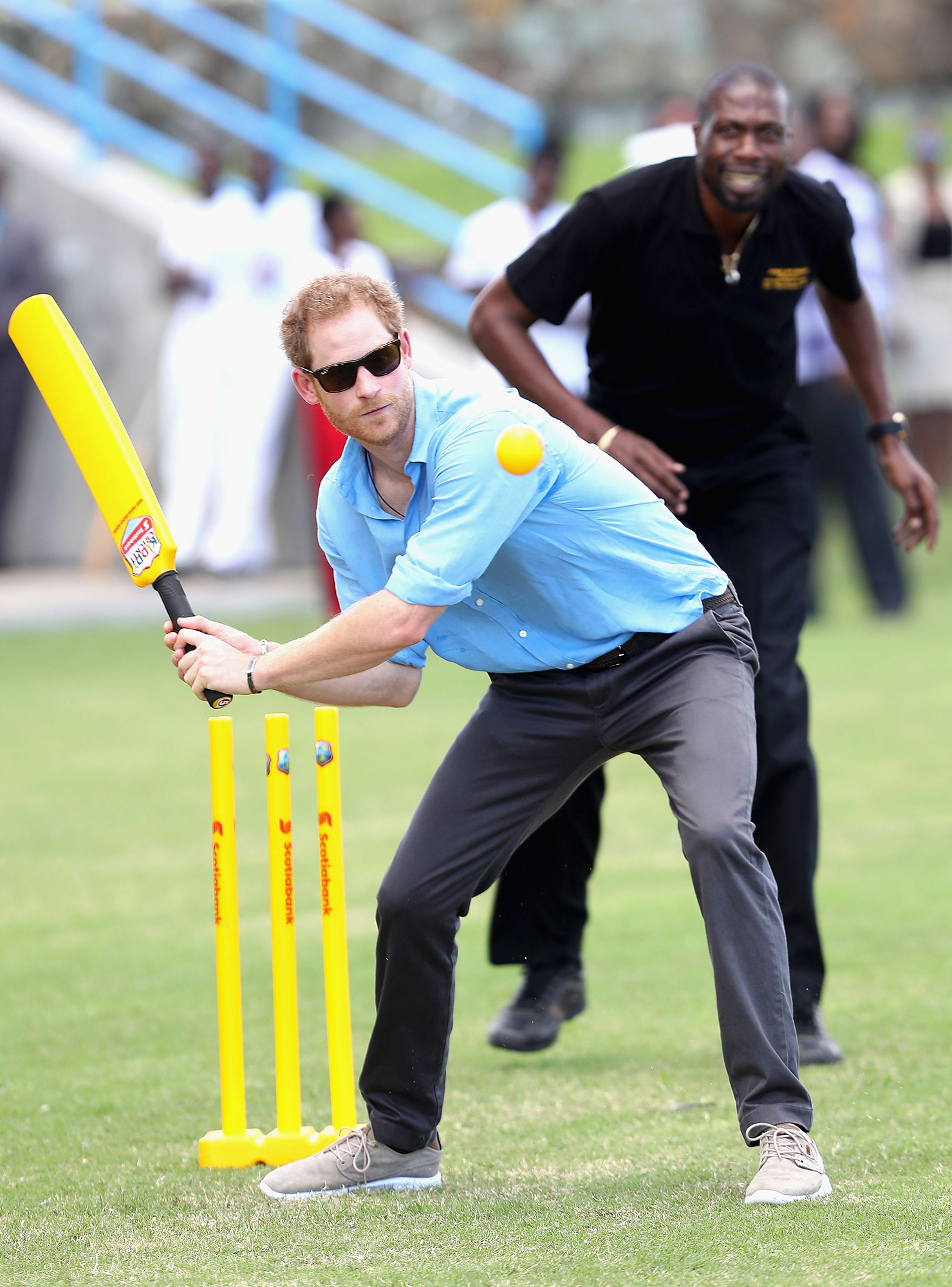 Prince Harry visit to the Caribbean - Day Two