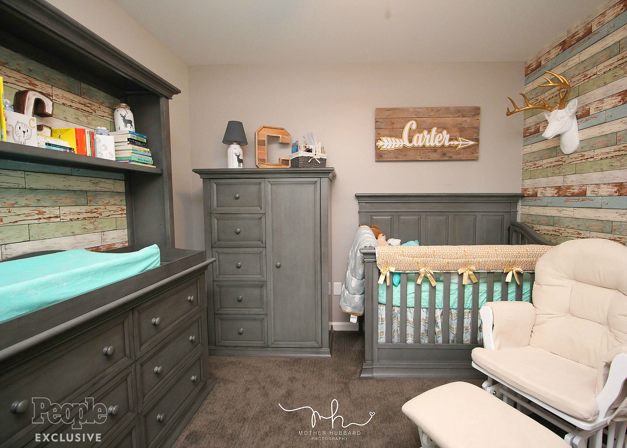 Exclusive first look at the nursery