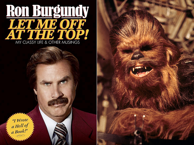 RON BURGUNDY: LET ME OFF AT THE TOP!