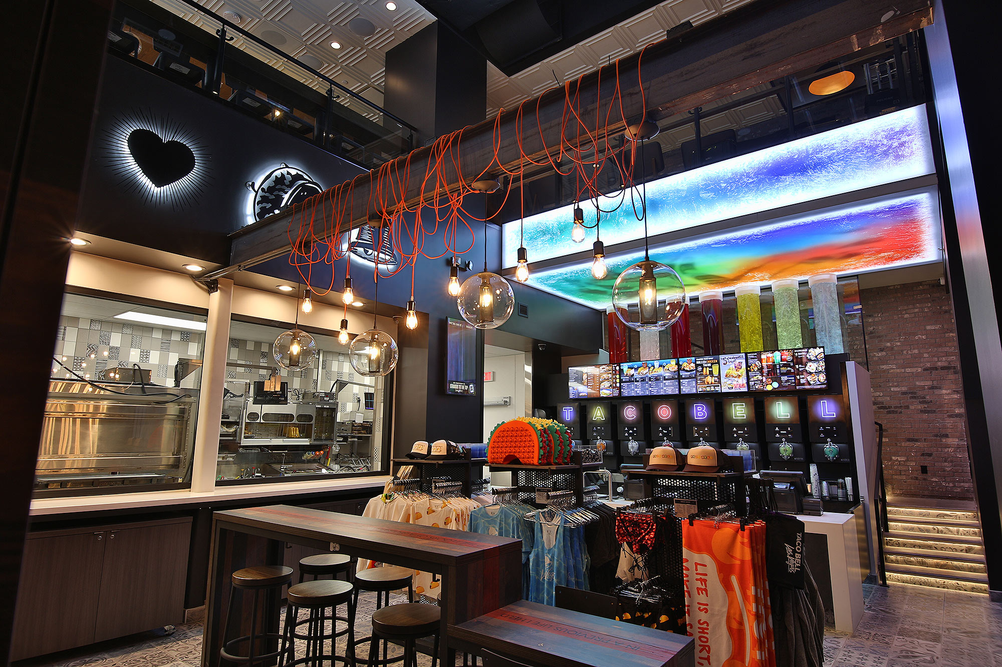 Taco Bell flagship in Vegas