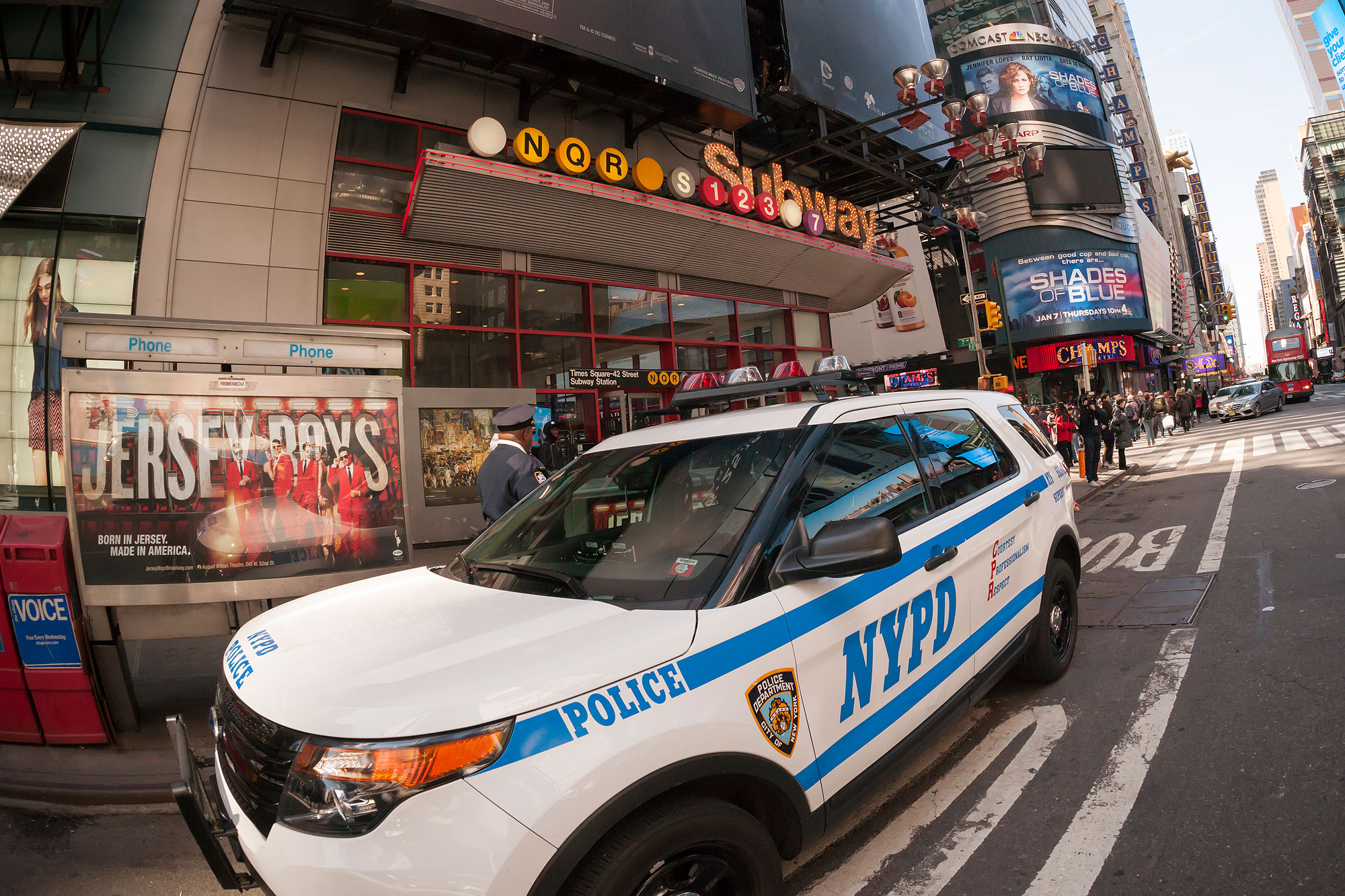 Security heightened in New York in wake of Brussels terrorism
