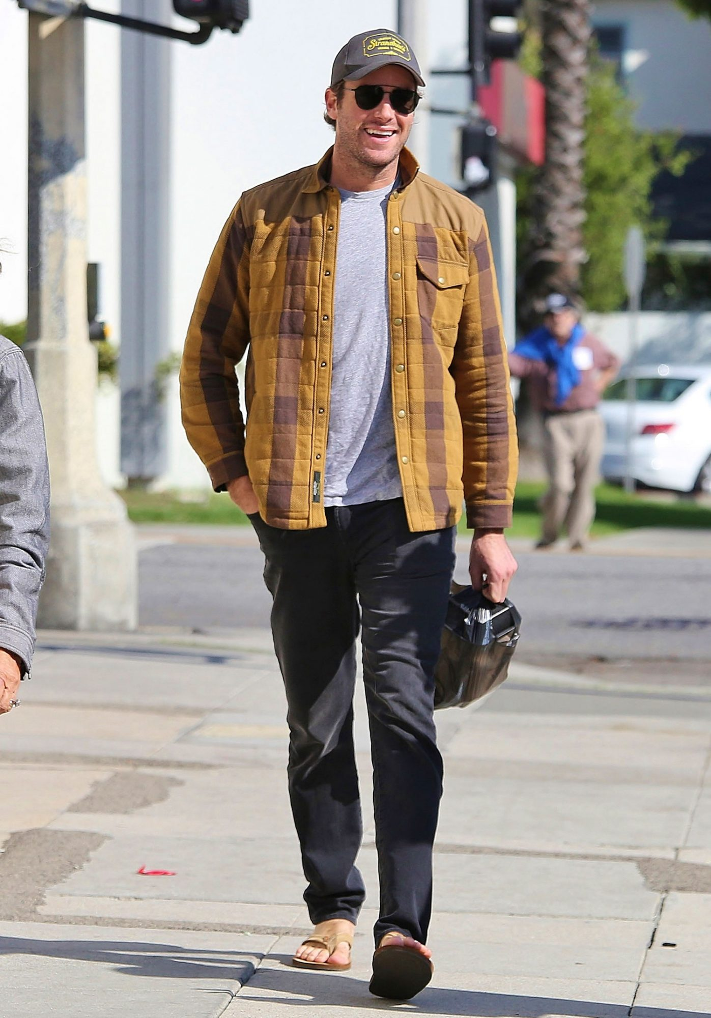 """EXCLUSIVE: """"The Birth of a Nation"""" actor Armie Hammer runs some errands in Los Angeles, California"""