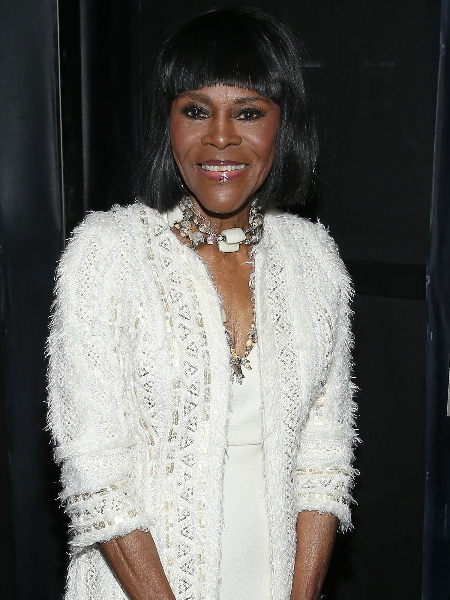 "NEW YORK, NY - OCTOBER 14: Actress Cicely Tyson attends ""The Gin Game"" Broadway opening night after party at Sardi's on October 14, 2015 in New York City. (Photo by Jemal Countess/Getty Images)"